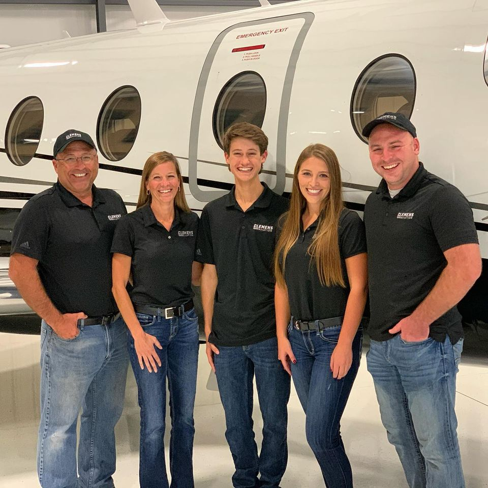 our charter aviation team